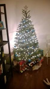 christmas tree - managing holiday stress