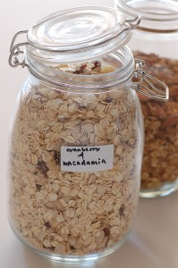 granola - healthy_breakfast